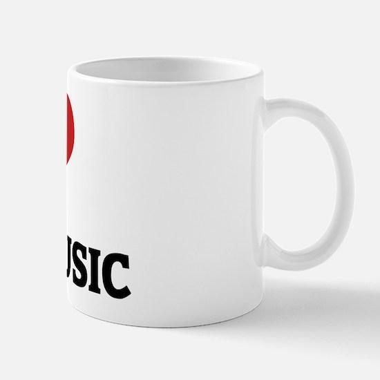 I Love Disco Music Mug