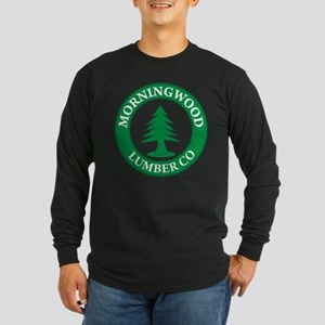 Morning Wood Lumber Company Long Sleeve Dark T-Shi