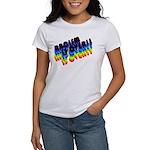 RACISM IS OVER!: Women's T-Shirt