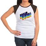 RACISM IS OVER!: Women's Cap Sleeve T-Shirt