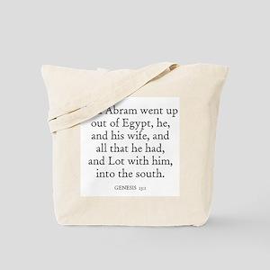 GENESIS  13:1 Tote Bag