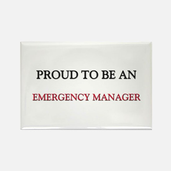 Proud To Be A EMERGENCY MANAGER Rectangle Magnet