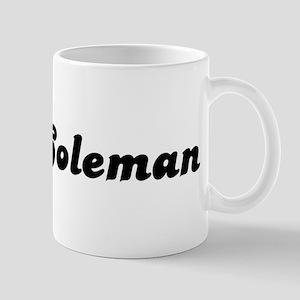 Mrs. Coleman Mug
