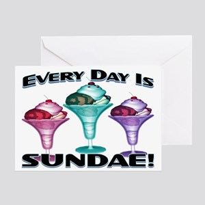 Sundae Everyday Greeting Card