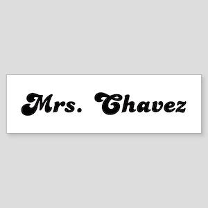 Mrs. Chavez Bumper Sticker