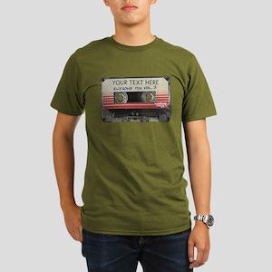 GOTG Personalized Cas Organic Men's T-Shirt (dark)