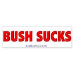"""""""Bush Sucks"""" Bumper Sticker (50)"""