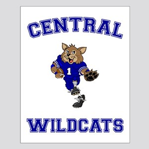 Central Wildcats Small Poster