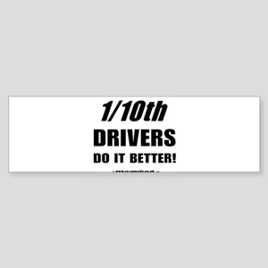 1/10th Bumper Sticker
