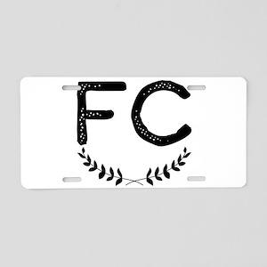fc Aluminum License Plate