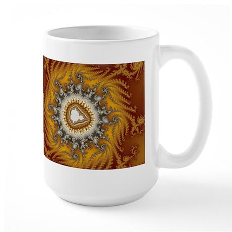 Mandelbrot fractal - Fur - Large Mug