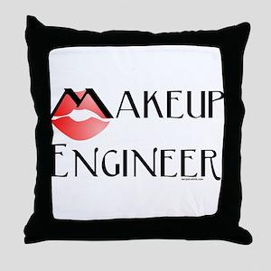 Makeup Engineer Throw Pillow