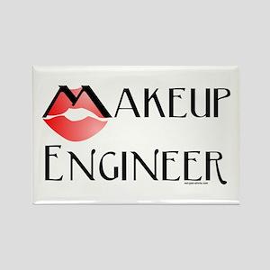 Makeup Engineer Rectangle Magnet