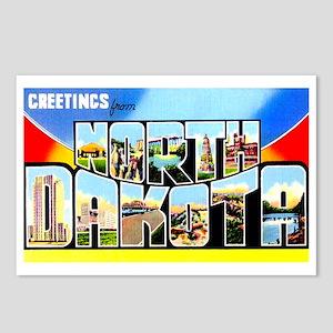 North Dakota Greetings Postcards (Package of 8)