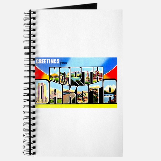 North Dakota Greetings Journal