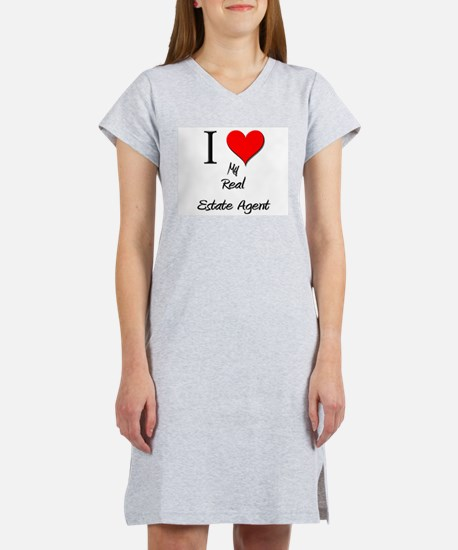 I Love My Real Estate Agen T-Shirt