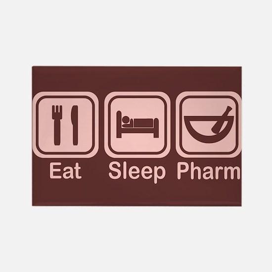Eat, Sleep, Pharm 2 Rectangle Magnet