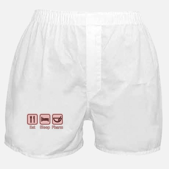 Eat, Sleep, Pharm 2 Boxer Shorts