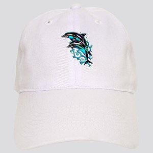Jumping Dolphins Sea Life Cap