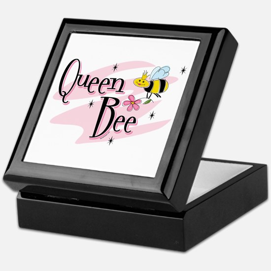 Queen Bee Keepsake Box