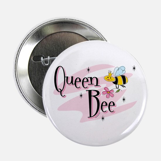"Queen Bee 2.25"" Button"