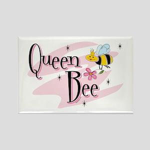 Queen Bee Rectangle Magnet