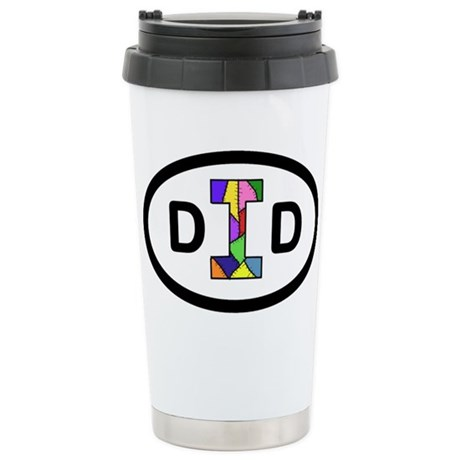 Stainless Steel Travel Mug with DID logo