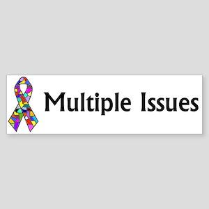DID/MPD Awareness bumper sticker