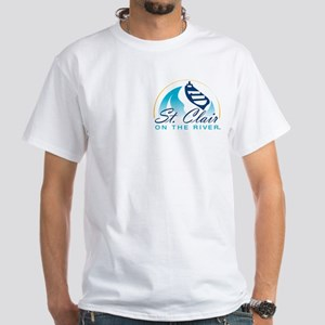 Blue Water Area White T-Shirt