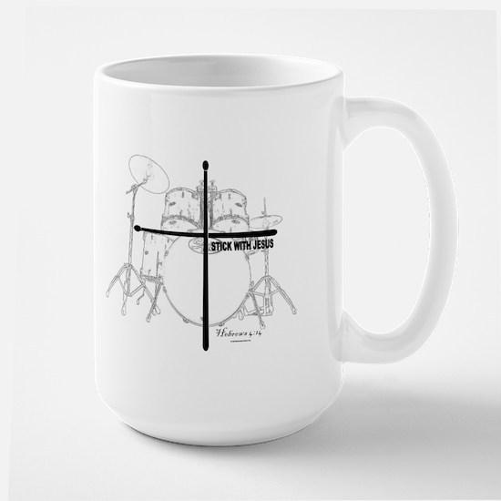 Stick With Jesus Large Mug