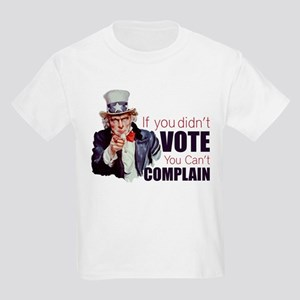 If you didn't vote, you can't complain Kids Light