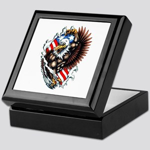 American Patriotic Spirit Tattoo Keepsake Box
