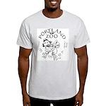 Portland Zoo Electric Band Light T-Shirt