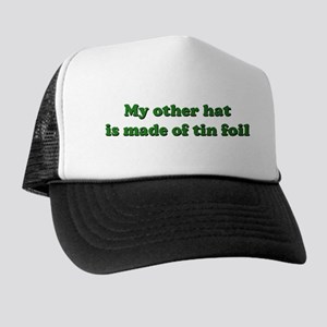 Other Hat Made of Tin Foil Trucker Hat b478f60ccacc