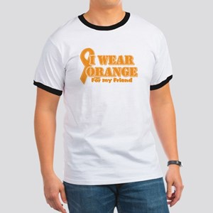 I wear orange friend Ringer T