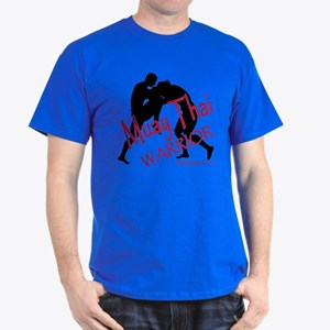 Muay Thai Warrior Dark T-Shirt