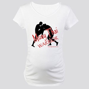 Muay Thai Warrior Maternity T-Shirt