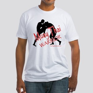 Muay Thai Warrior Fitted T-Shirt