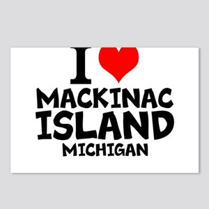 I Love Mackinac Island, Michigan Postcards (Packag