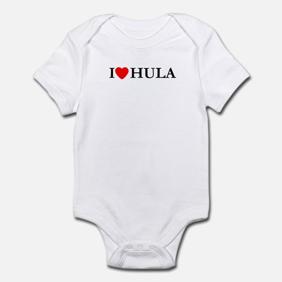 I Love Hula Infant Bodysuit
