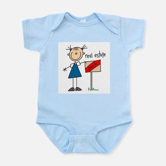 Real Estate Agent Infant Bodysuit