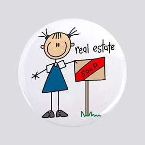 "Real Estate Agent 3.5"" Button"