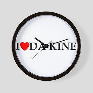 I Love Da Kine Wall Clock