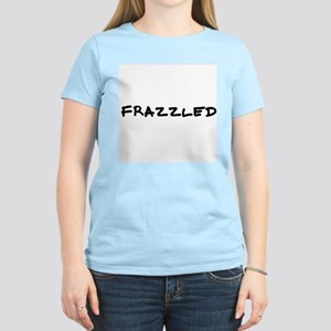 Frazzled Women's Pink T-Shirt