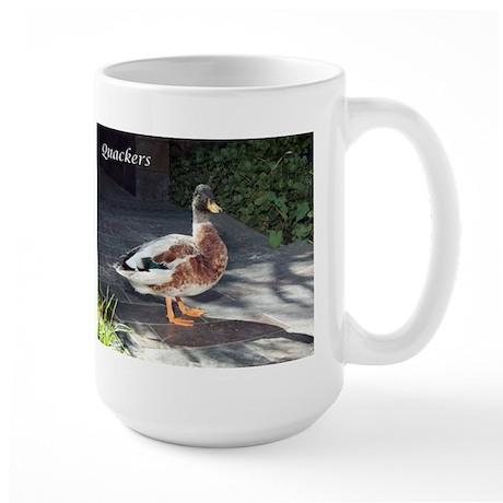 Quackers Large Mug
