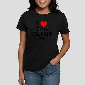 I Love Mackinac Island, Michigan T-Shirt
