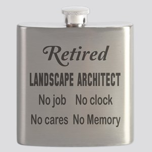 Retired Landscape architect Flask