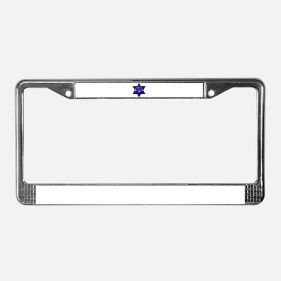 I Support ISRAEL 2008 License Plate Frame