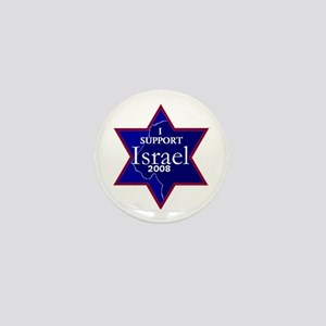 I Support ISRAEL 2008 Mini Button