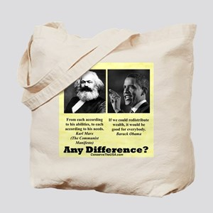 """Any Difference?"" Tote Bag"